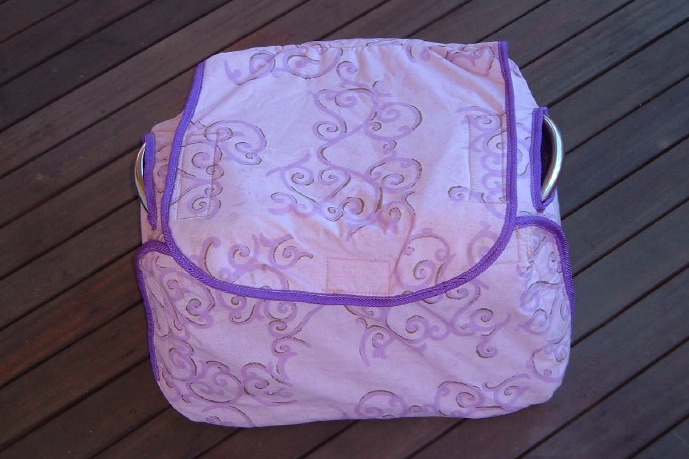Padded pouch for Birthing Seat